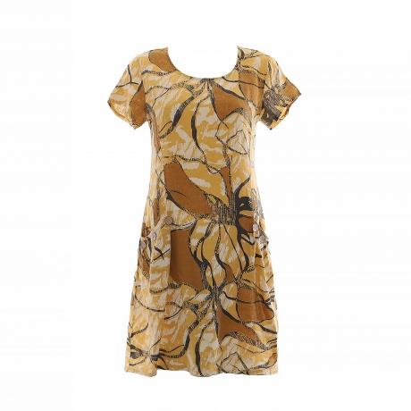 2.Marisol linane kleit nööpidega kollane11100325SM eest.jpg