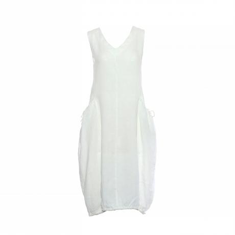 20.Marisol linane kleit nööridega valge11100308M eest.jpg