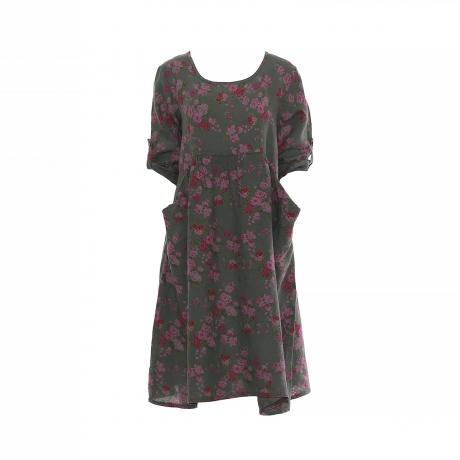 36.Marisol linane kleit Rose roheline11100329M eest.jpg