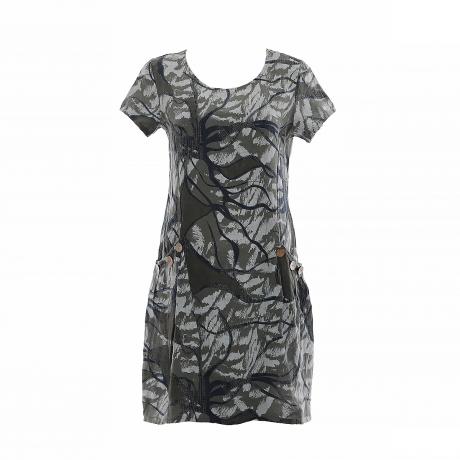 4.Marisol linane kleit nööpidega roheline11100324SM eest.jpg