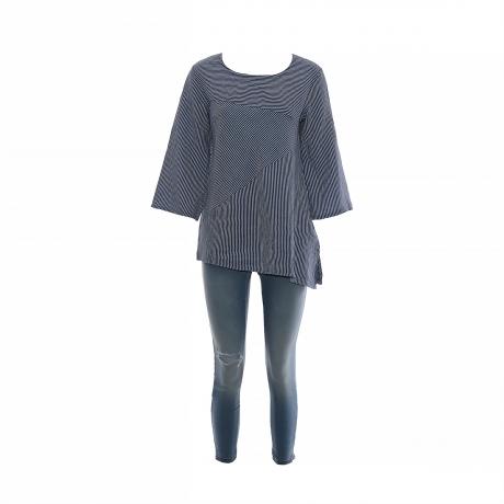 47.Marisol linane pluus triibuline sinine11100286M eest.jpg