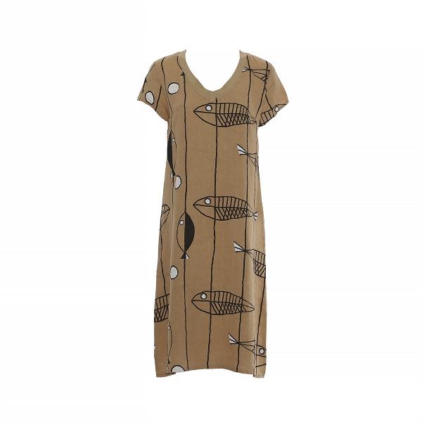 """Marisol linane kleit """"Kala"""" pruun"""