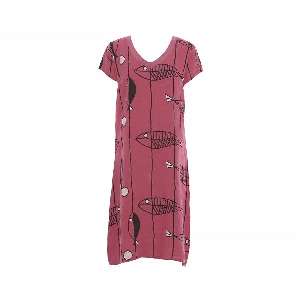 "Marisol linane kleit ""Kala"" roosa ZE"