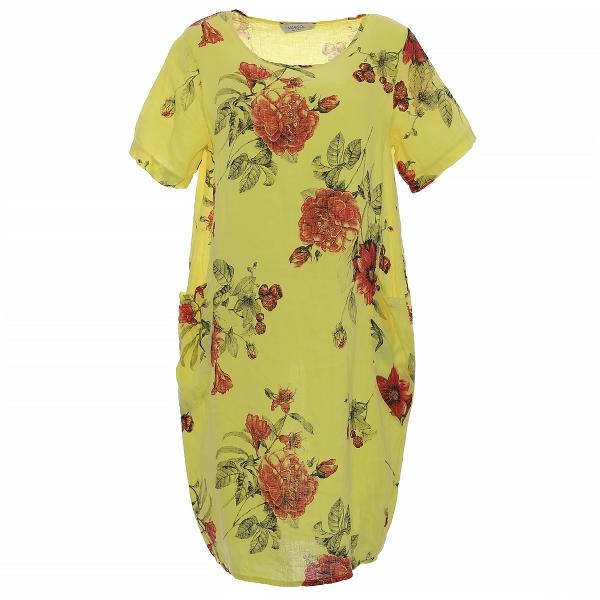 """Marisol linane kleit """"Lily"""" kollane"""