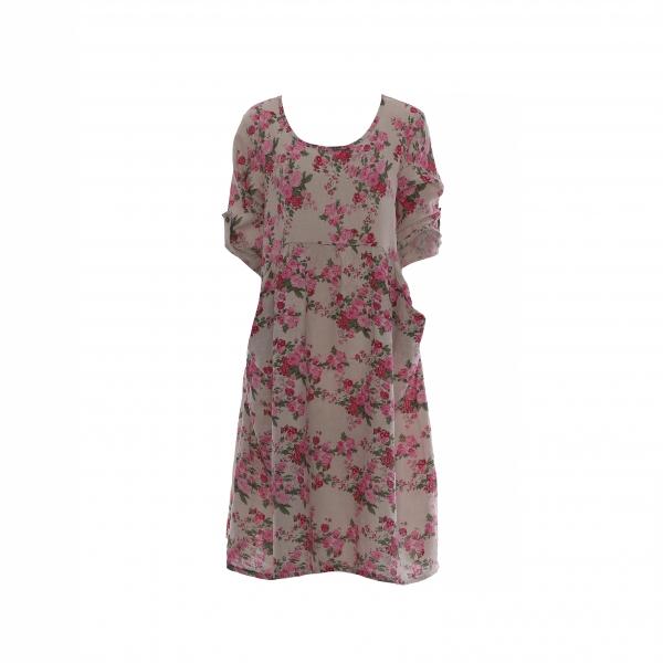 "Marisol linane kleit ""Rose"" beež"