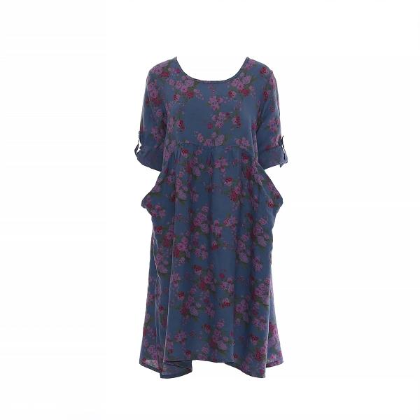 "Marisol linane kleit ""Rose"" sinine"
