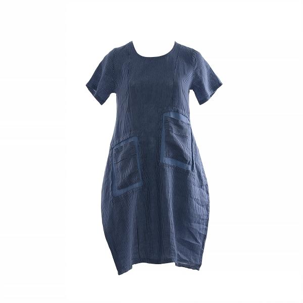 "Marisol linane kleit ""Dorothea"" sinine"