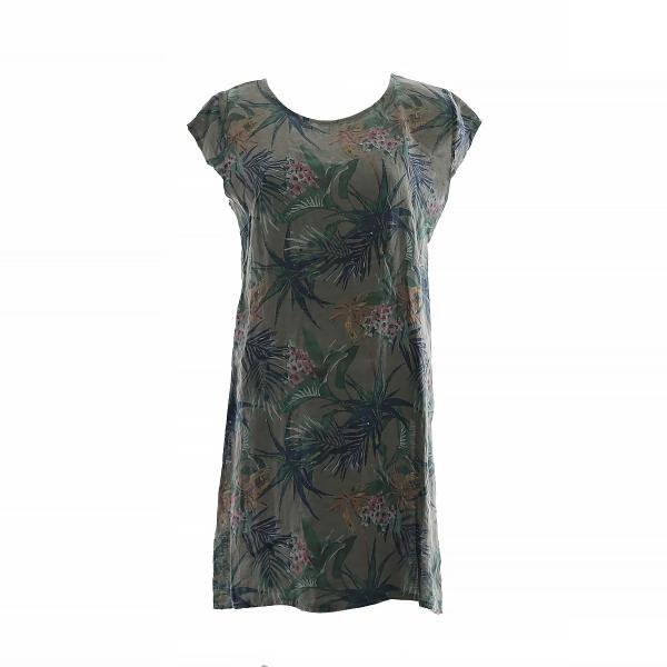 "Linane kleit ""Lino"" roheline"