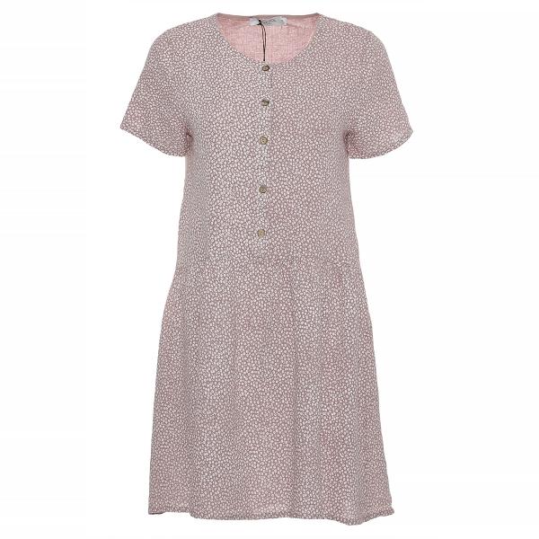 "Marisol linane kleit ""Flora"" roosa"