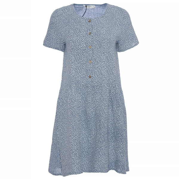 """Marisol linane kleit """"Flora"""" sinine"""