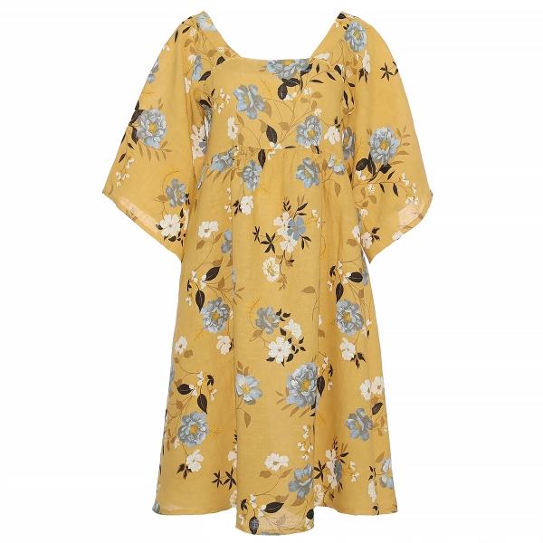 "Marisol linane kleit ""Emily"" kollane"