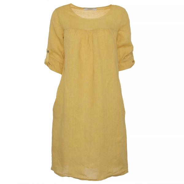 """Marisol linane kleit """"Lana"""" kollane"""