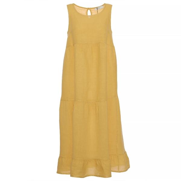 """Marisol linane kleit """"Stella"""" kollane"""