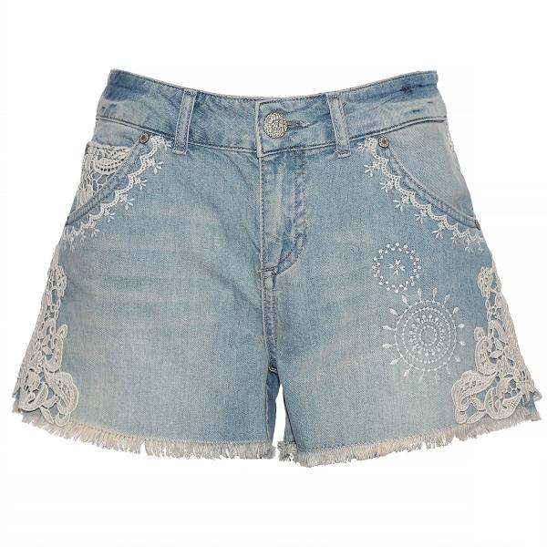 Naiste lühikesed teksapüksid E