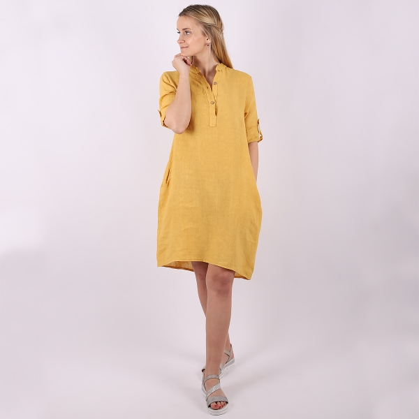 """Marisol linane kleit """"Jade"""" kollane"""
